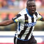 Udinese receive major boost as Agyemang Badu makes return from long-term injury