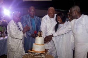 PHOTOS: Prof. Alabi throws lavish 61st birthday party after NDC defeat