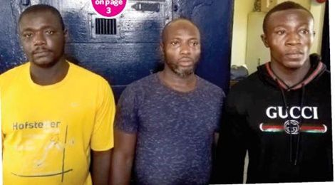 NDC shooting: 3 suspects arrested