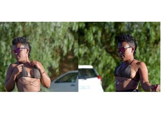 PHOTOS: South African 'pantless dancer' Zodwa Wabantu goes underwear-free AGAIN