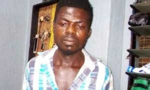 Photo: Police arrest man who killed his father's tenant in a brutal attack