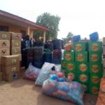 NADMO distributes relief items to Chereponi victims