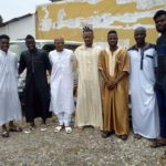 PHOTOS: Muslim players in Ghana squad observe Friday prayers at Alhaji Bandah mosque