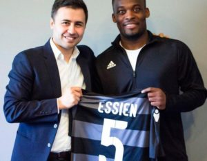 Essien explains why he agreed to join Azerbaijani side Sabail FK