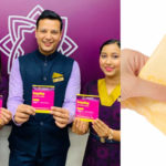 THIS airline became the first to offer sanitary pads on board