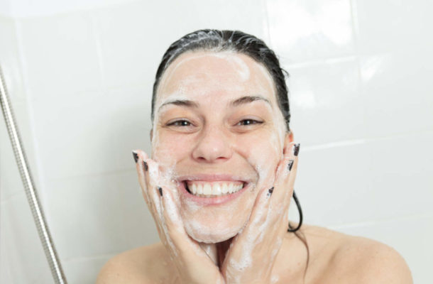 Know why you should never wash your face in the shower