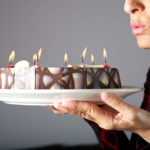 This is why you should NEVER blow out candles on a birthday cake!