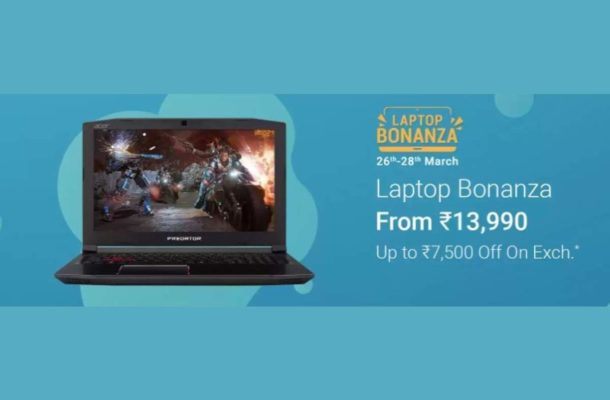 Laptop Bonanza on Flipkart: Get up to Rs 7,500 off on Lenovo, Dell, HP and other laptops