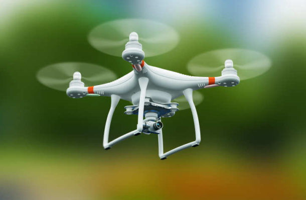 This hospital uses drones to fly blood samples between buildings