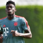 Ghanaian born Canadian youngster Alphonso Davies ruled out with knee injury