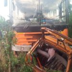Over 50 passengers burnt to death in accident at Kintampo