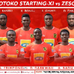 Asante Kotoko line-up: Akonnor names XI to face Zesco United