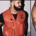 PHOTOS: Drake debuts Tattoo of his son Adonis on his arm