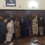 Delegation of Otumfuo Osei Tutu II Calls On Speaker of Parliament