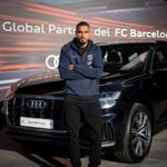 KP Boateng and Barcelona teammates receive new Audi cars
