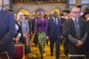 PHOTOS: Veep inaugurates Ghana chapter of University of Buckingham