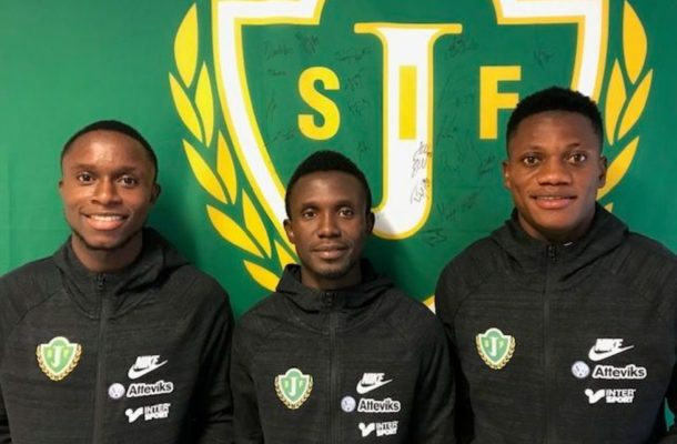 Nkoranza Warriors trio join Swedish side Jönköpings Södra