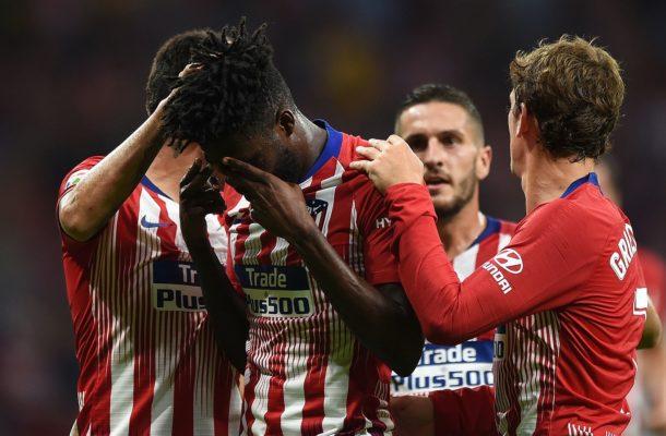 Thomas Partey's Atlético Madrid dumped out of Champion League by Juventus