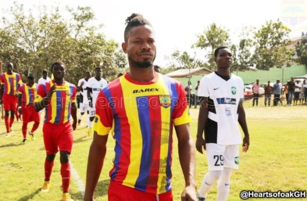 Hearts of Oak defender Benjamin Agyare set for injury return