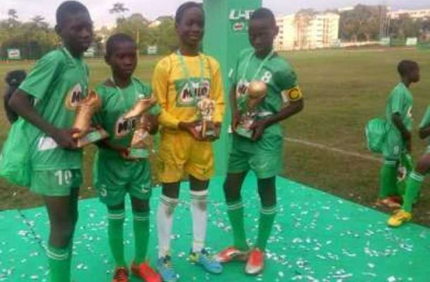 Avatime FC recruit eight best players from Milo U13 Championship