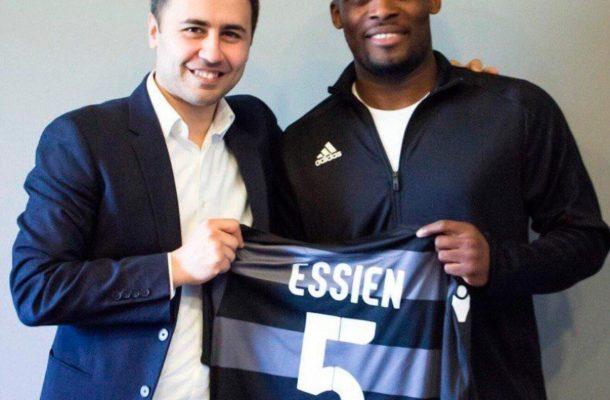Azerbaijani side Sabail FC pay tribute to Michael Essien