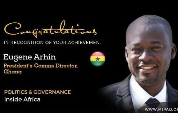 Eugene Arhin named among 'Most Influential People of African Descent'