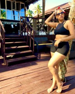 PHOTOS: Juliet Ibrahim flaunts her banging body in sexy swimsuit