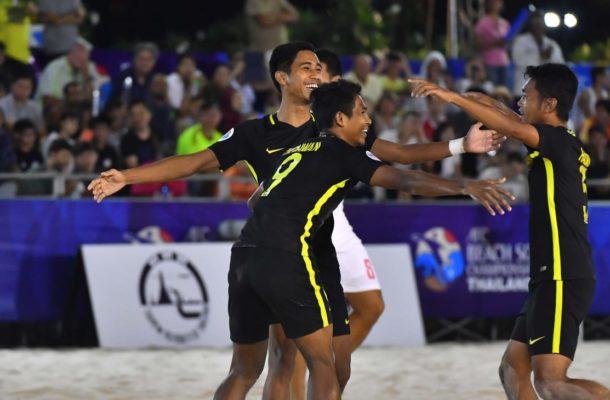 Group A: Malaysia 5-4 Thailand