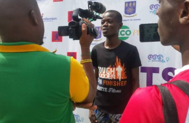 William Amponsah breaks own record to win 12km GF Athletics Championship
