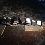 Bibles left untouched by a devastating fire in West Virginia