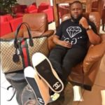 Hushpuppi shows off his $150,000 Richard Mille Watch
