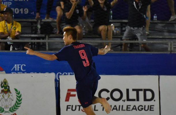 Group A: Thailand 2-0 Afghanistan