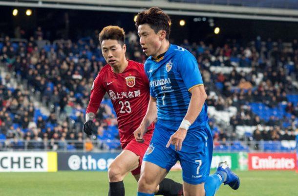 Group H: Ulsan Hyundai FC (KOR) 1-0 Shanghai SIPG FC (CHN)