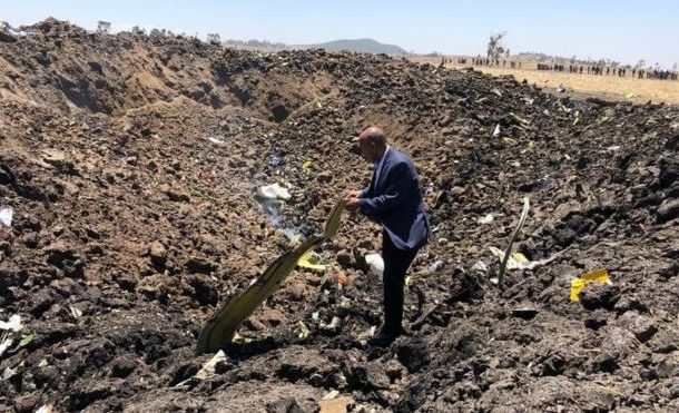 No Ghanaians involved in Ethiopian Airlines flight crash that killed 157