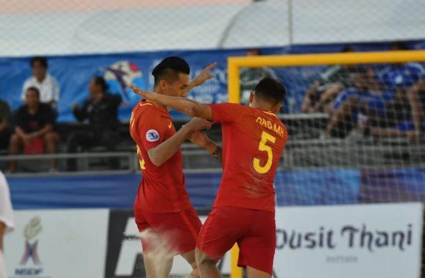 Group B: China PR 9-3 Kyrgyz Republic