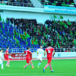 Play-off Stage - 1st leg: FC Ahal 1-1 FC Khujand