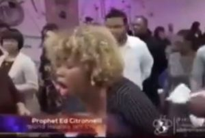 Viral video: Pastor prays out the spirit of ''oral s*x'' from his female member