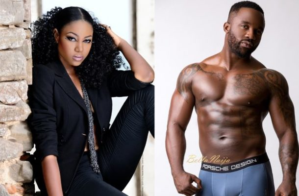 MESSY: Iyanya's former boss hints singer used to beat Yvonne Nelson