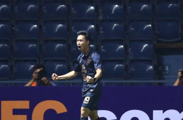 Supachok joy at match-winning strike