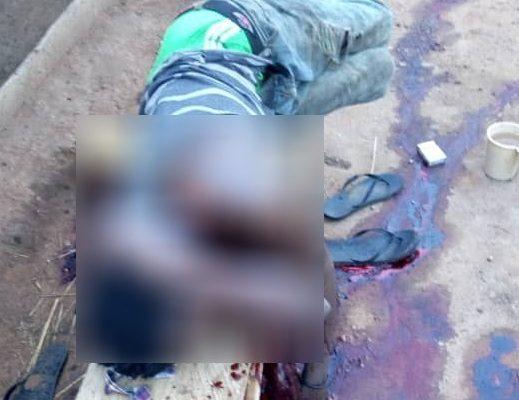 Nkoranza: Man butchers friend to death over food