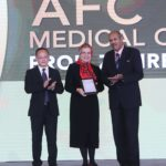 Top professionals honoured at AFC Medical Awards