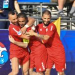 Group B: Kyrgyz Republic 2-11 Lebanon