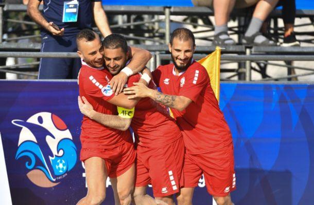 Group B: Kyrgyz Republic 2-11 Lebanon