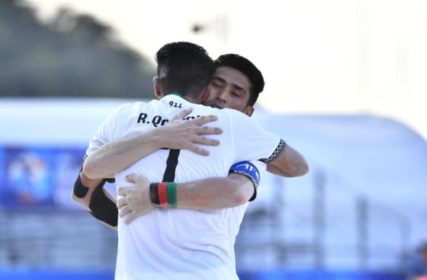 Group A: Palestine 3-2 Afghanistan