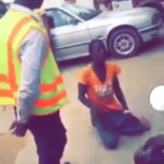 WATCH: Ghana police brutalize man in another trendy video