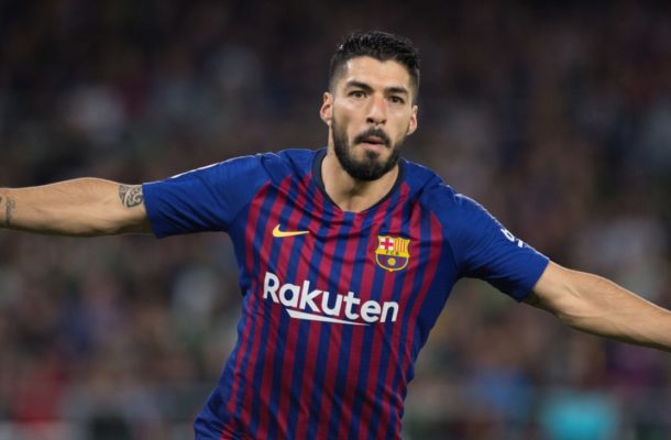 Injured Suarez to miss China Cup for Uruguay