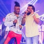 VIDEO: Stonebwoy, Samini in freestyle 'battle' at Independence Concert