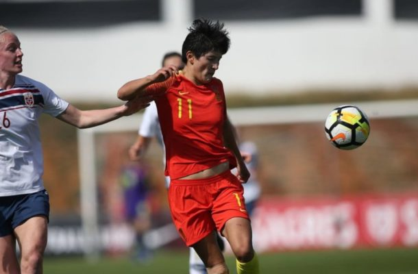 China fall to Norway; Thailand go down late