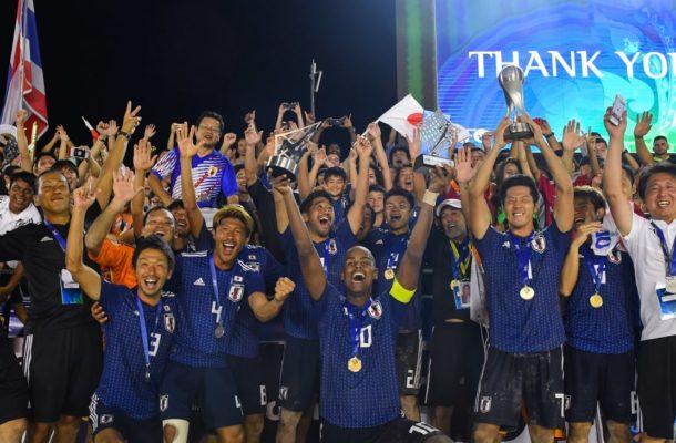 AFC President congratulates Japan for claiming AFC Beach Soccer title