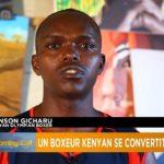 Retired Kenyan boxing champion turns to painting
